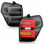 Spyder® 2010-2020 Toyota 4Runner Full LED Tube w/Sequential Tail Lights - Smoked