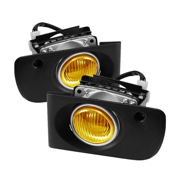 94-01 Acura Integra Factory Style Fog Lights Kit - Yellow