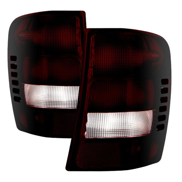 99-03 Jeep Grand Cherokee OEM Style Tail Lights - Red Smoked
