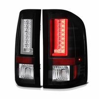 Spyder ALT-YD-CS10V2-LED-BK 2010-2011 Chevy Silverado 1500/2500/3500 Version 2 LED Tail Lights - Black