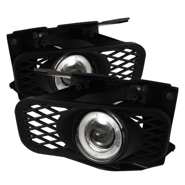 Spyder Ford F150 99-03 Expedition 99-02 Halo Projector Fog Lights - Clear