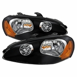 Dodge Stratus Coupe 2dr Only 03-05 Crystal Headlights - Black