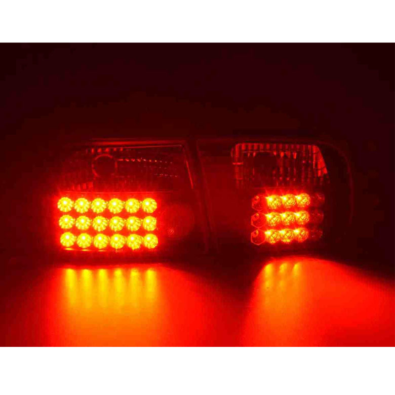 Remix Custom Z4 LED Arrow Power Side Mirrors Compatible with 1992 ...