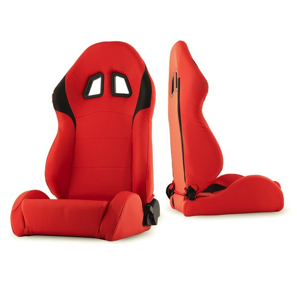 RST-XM2-01-RDB-DR XM-II Racing Seat PU (Double Slider) - Red/Black - Driver Side