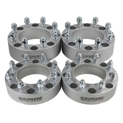 """Supreme Suspension 1.5"""" Wheel Spacers Wheel Spacers For 2005-2019 Ford F-250 Super Duty 2WD and 4WD"""