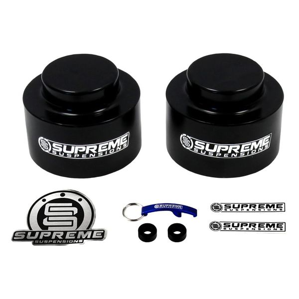 "Supreme Suspensions� 2002-2009 Chevrolet Trailblazer 1"" Rear PRO Billet Spring Spacers CHTB02RL0010"