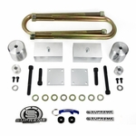 Supreme Suspension FDF215FK2520A 2005-2019 Ford F-250 / F-350 Super Duty 4WD (Very Important: For Rear Overload Models Only) Front/Rear Lift Kit