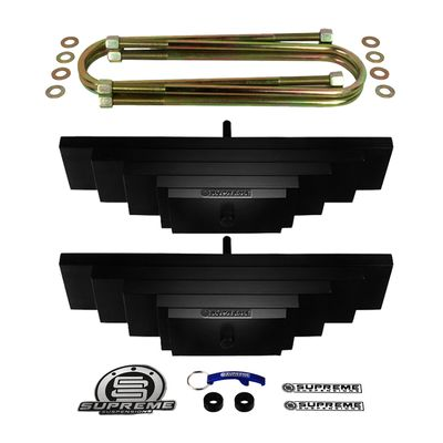 """Supreme Suspension 2.5"""" Front Pro Billet Lift Packs for 1980-2004 Ford F-250 Super Duty 4WD (2.5-2.8"""" Front Lift / Will Not Fit Twin I-Beam Suspension)"""