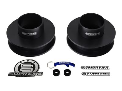 "Supreme Suspension 2.5"" Front Pro Spring Spacers for 1987-1996 Dodge Dakota 2WD (Does Not Fit Extended Cab Models)"