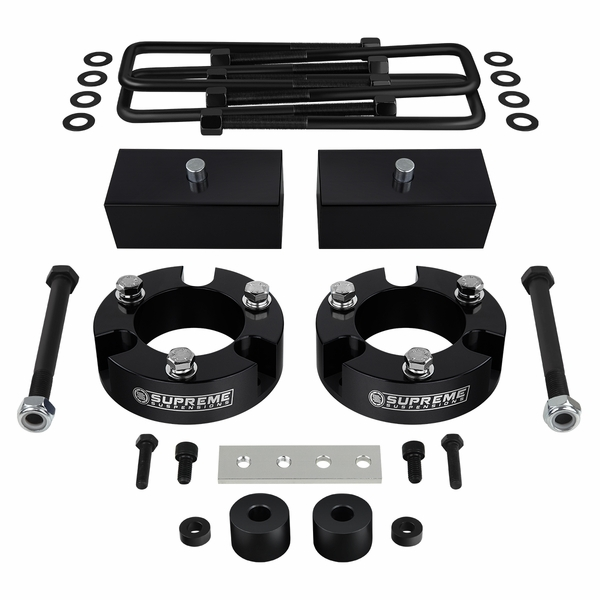 """Supreme Suspensions� 1999-2006 Toyota Tundra 4WD 3"""" Front 2"""" Rear PRO Billet Lift Kit - Diff Drop Included TYTU99FK3020A"""