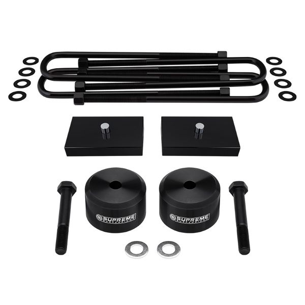 Supreme Suspensions 2005-2020 Ford F-250 Super Duty 4WD 2-inch Front 1-inch Rear  Lift Kit