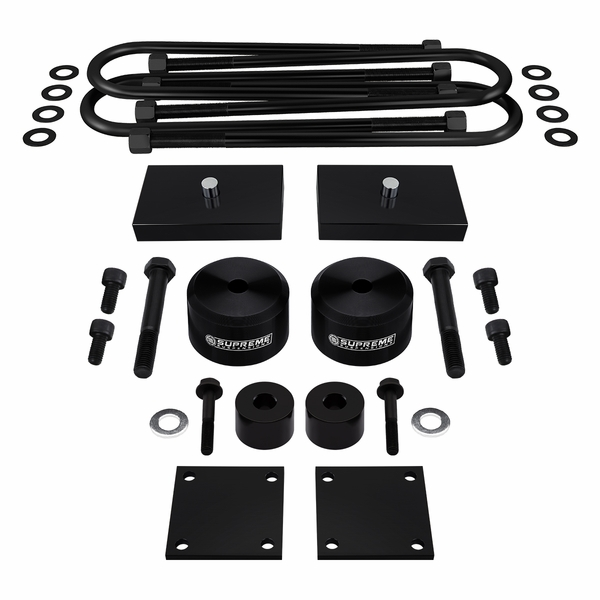 "Supreme Suspensions� 2005-2020 Ford F-250 Super Duty 4WD 2"" Front 1"" Rear PRO Billet Lift Kit FDF205FK2010A"