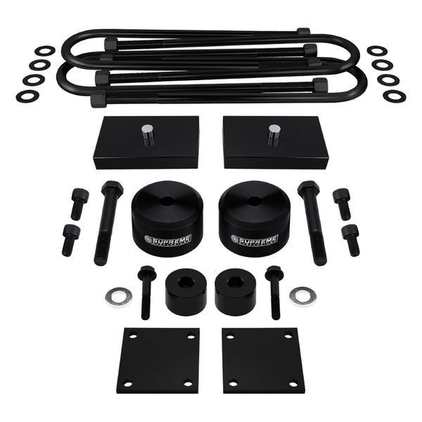 Supreme Suspensions 2005-2020 Ford F-250 Super Duty 4WD 2.5-inch Front 1-inch Rear PRO Billet Lift Kit