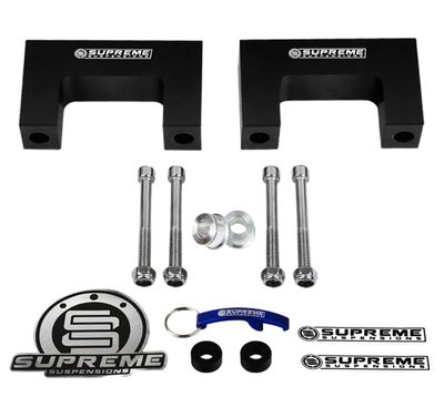 Supreme Suspension DGDK87SL2000 1987-1996 Dodge Dakota 2WD and 4WD (Fits Rear Only) Rear Leveling Kit