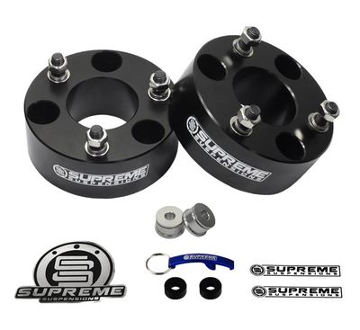 "Supreme Suspension 2"" Pro Billet Strut Spacers for 2004-2016 Ford F-150 2WD and 4WD"