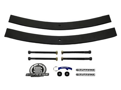 """Supreme Suspension 2"""" Rear Add-A-Leaf Springs for 1970-1976 Ford F-250 Super Duty 2WD and 4WD"""