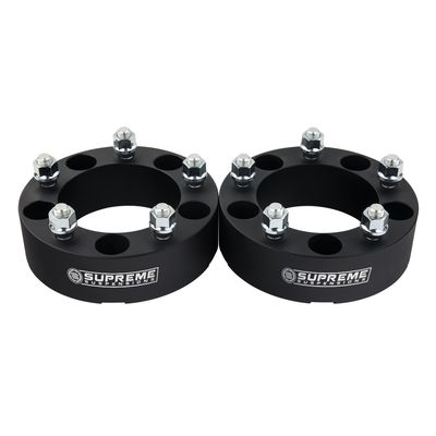 """Supreme Suspension 2"""" Wheel Spacers Wheel Spacers For 1976-1996 Ford F150 2WD and 4WD"""