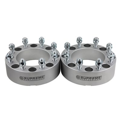 "Supreme Suspension 2"" Wheel Spacers Wheel Spacers For 1992-2013 Chevrolet Suburban 2500 2WD and 4WD"