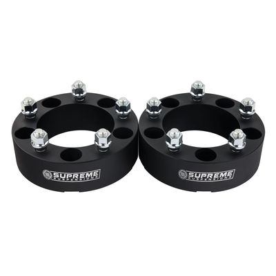 "Supreme Suspensions 1976-1996 Ford F150 2"" Billet Wheel Spacer 2 piece set"