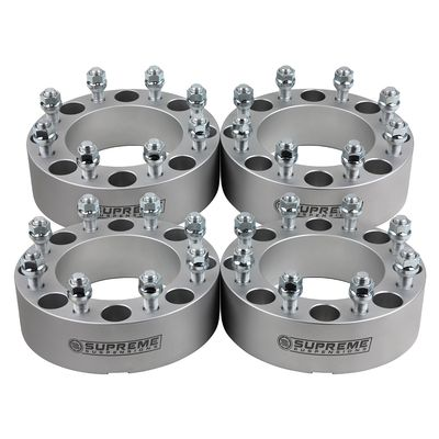 """Supreme Suspension 2"""" Wheel Spacers Wheel Spacers For 2000-2013 GMC Yukon XL 2500HD 2WD and 4WD"""