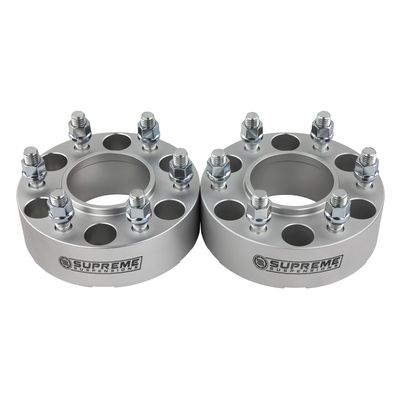 """Supreme Suspension 2"""" Wheel Spacers Wheel Spacers (HC) For 1992-1999 Chevrolet Suburban 1500 4WD Only / 2000-2016 Chevrolet Suburban 1500 2WD and 4WD"""