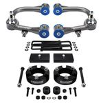 """Supreme Suspensions 2005-2020 Toyota Tacoma 4WD 3.5"""" Front 1"""" Rear Mid Travel Lift Kit"""