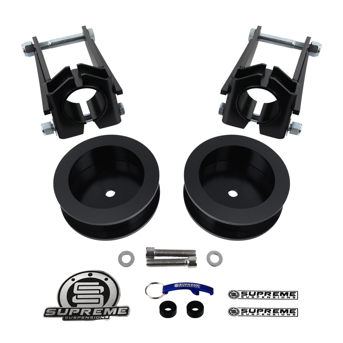 "Supreme Suspension 3.5"" Front 2.5"" Rear Pro Billet Lift"