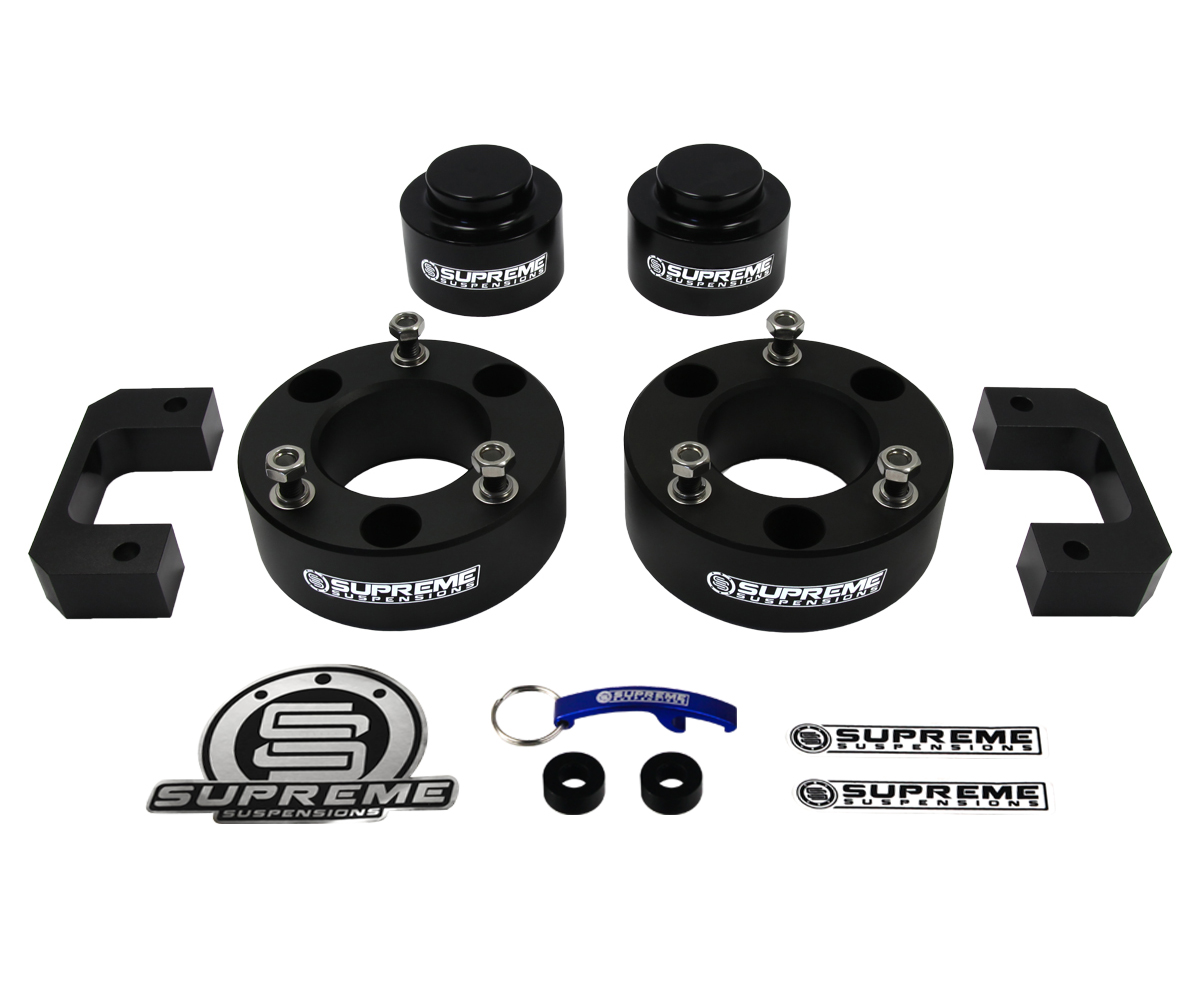 Supreme Suspension 35 Front 3 Rear Pro Billet Lift Kit For 2007 2015 Chevy Tahoe Chevrolet 2wd And 4wd