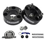 "Supreme Suspension 3.5"" Pro Billet Strut Spacers for 2005-2008 Lincoln Mark LT 2WD and 4WD"