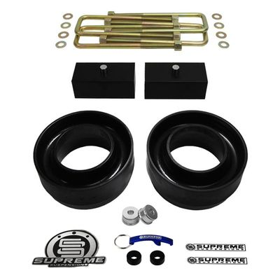 "Supreme Suspension 3"" Front 1.5"" Rear Pro Billet Lift Kit for 1994-2001 Dodge Ram 1500 2WD (Does Not Fit Extended Cab Models / Does Not Fit Mega Cab Models)"