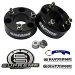 "Supreme Suspension 3"" Front Pro Billet Strut Spacers for 2004-2015 Infiniti QX56 2WD and 4WD"