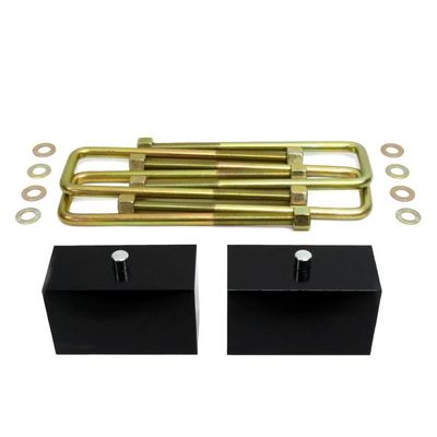 "Supreme Suspension 3"" Pro Billet Rear Lift Blocks for 1983-1996 Ford F-350 Super Duty 4WD"