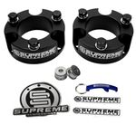 "Supreme Suspension 3"" Pro Billet Strut Spacers for 2005-2015 Toyota Tacoma 2WD and 4WD (Will not fit 5-Lug Models / TRD Off-Road Model will NOT fit 3"" or 3.5"" Front Spacer)"