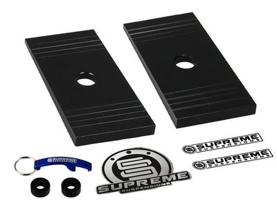 Supreme Suspension Pro Billet Angled Shims for Toyota All Models 2WD and 4WD (Fits All Models with Rear Leaf Springs)