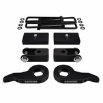 "Supreme Suspensions� 1999-2007 Chevrolet Silverado 1500 4WD 6-Lug 1-3"" Front 1"" Rear Lift Kit - Shock Extenders included CHSL99FK3010A"