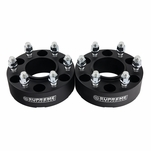 """Supreme Suspensions® 1995-1999 Chevrolet Tahoe 4WD Only / 2000-2020 Chevrolet Tahoe 2WD 4WD 1.5"""" PRO Billet Wheel Spacer Set of 2 CHTA92WC0015"""