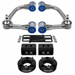 Supreme Suspensions 2004-2008 Ford F-150 4WD 3-inch Front 1.5-inch Rear Mid Travel Lift Kit