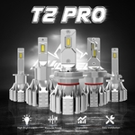 Wicked T2Pro Extreme LED Headlights Conversion Kit 50W 5000LM
