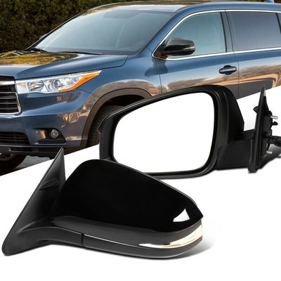 Toyota 14-16 Highlander Power 5 Pin LED Signal View Side Mirrors Left+Right