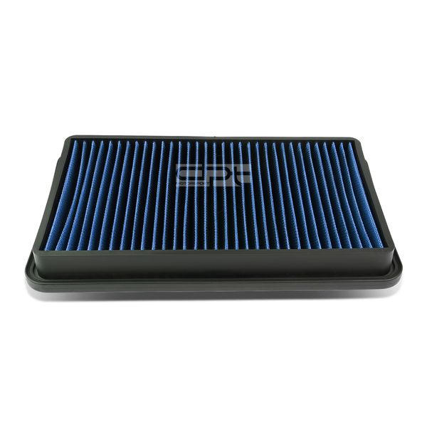 Toyota Camry / Sienna / Lexus RS300 / ES300 Reusable & Washable Replacement High Flow Drop-in Air Filter (Blue)