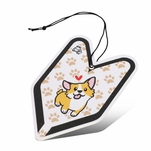 Treefrog Wakaba Young Leaf Classic Fresh Scent Car Office Hanging Air Freshener