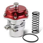 Universal 2-Inch Turbo 50mm V-Band Blow-Off Valve Kit - Red