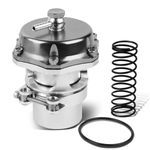 Universal 2-Inch Turbo 50mm V-Band Blow-Off Valve Kit - Silver