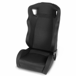 Universal Woven Frabic High-Head Rest Black Performance Racing Seat Driver Left