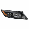 [US Built Halogen w/o LED Position] 2014-2015 Kia Optima Projector Headlight Passenger Side