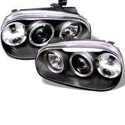 Volkswagen Golf GTI Gti Iv 99-05 Projector Headlights - Black