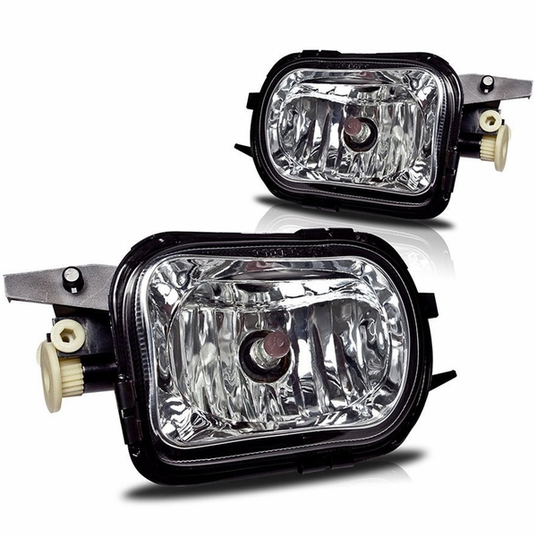 Winjet 01-07 Mercedes Benz W203 C Class OEM Style Fog Lights - Clear