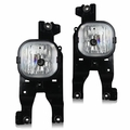 Winjet 08-10 Ford F-250/350/450 Fog Lights - Clear Wiring Kit Included