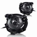 Winjet 08-10 Nissan Rogue Fog Light - Clear Wiring Kit Included