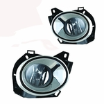 Winjet 13-15 Nissan Pathfinder Fog Light - Clear Wiring Kit Included